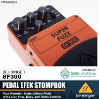 Behringer SF300 Super Fuzz Distortion Pedal Efek Stompbox Gitar SF 300