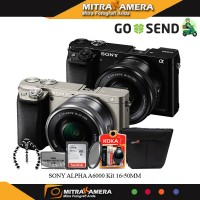 Jual kamera sony alpha a6000 kit 16-50mm (Promo Cashback) Murah