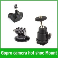 Hot Shoe Adapter Cradle Ball Head Tripod Bracket Holder Mount for Came