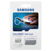 Memory card Samsung PRO 64GB micro sd Class 10 / Class10 64 GB SDXC