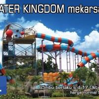 Tiket Water Kingdom Mekarsari PROMO MURAH / Kolam Renang (e-tiket)