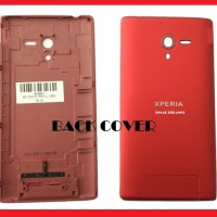 ZL C6505 SE XPERIA BACK COVER TUTUP BATRE CASSING BLKG RED 903857
