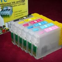 Cartridge tinta isi ulang refillable epson CIC 85N 1390 T60