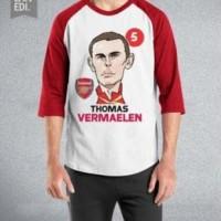 RAGLAN THOMAS VERMAELEN - FOOTBALL PLAYER ORDINAL APPAREL
