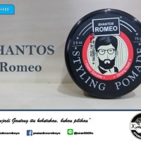 Pomade Shantos Romeo ( Waterbased Pomade - Minyak Rambut Pria )