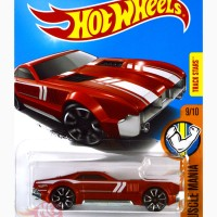 CCM Country Club Muscle MERAH RED Track Stars - Hot Wheels HW Hotwheel
