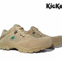 Jual Sepatu Tactical Kickers Delta Low Safety /Sepatu PDL Pria Murah