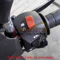 Saklar Bajaj Pulsar Yamaha NMAX (Sudah Ubah Kelistrikan)