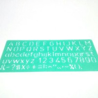 Penggaris Huruf,abjad&simbol LINEX berkualitas