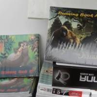 BUKU GAMBAR A4 DISNEY JUNGLE BOOK (AL GOLD)