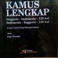KAMUS LENGKAP Onggris-Indonesia Indonedia-Inggris Pujo Waskito