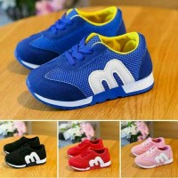 Jual Sepatu Sport Sneakers Anak / Bayi Import Little Murah Non Lampu LED Murah