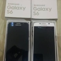 Samsung S6 Flat 32GB LCD Shadow Murah fullshet mulus mesin Normal ORI