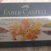 Pensil warna Faber Castle Polychromos 12 warna dari Jerman