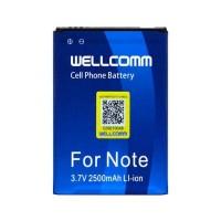 Baterai Samsung Note GT-N7000 Double IC Wellcomm