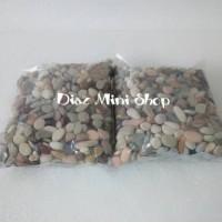 Jual batu hias aquarium aquascape panca warna 500 gram Murah