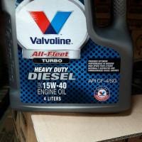 OIL VALVOLINE All-fleet TURBO diesel 15W-40