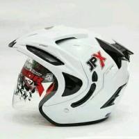 Helm jpx doble visor putih bukan ink kyt bogo mds gm retri nhk