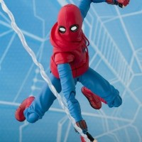 SHF Spiderman Home Suit + Wall Asia Ver