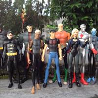 Jual action figure murah SET 10 vintage toys dc superman batman flash DLL Murah