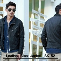 Manzone52 Jaket Kulit. Jaket Korean  Exclusive