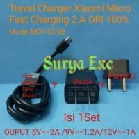 Adaptor Charger Xiaomi 2A Micro ORI 100 % Fast Charging + Adapter