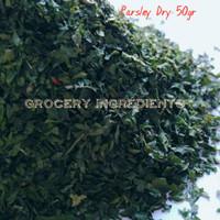 Parsley Dried / Peterseli / Daun Sup - 50gr