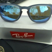 Ray Ban RB4221 blue lens and white/blue frame - ORIGINAL