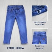 Celana Jeans Panjang Anak Laki-laki / Perempuan (Unisex) 6-10 Tahun