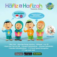 Jual HOT [Free Bonus] Boneka Hafiz Hafizah Talking Doll Murah