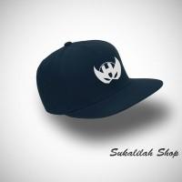 Topi Snapback Hawkeye Head - Navy