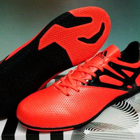 a4b0be4c300 Adidas Messi X Orange - IC  Sepatu Futsal   Replika Import