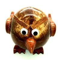 Celengan batok kelapa motif angry bird