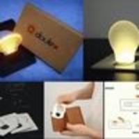 Jual LAMPU KARTU LED UNIK / bisa untuk lampu tidur Murah