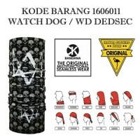 Jual CK Bandana 1606011 Watch dog / WD dedsec masker buff Multifungsi Murah
