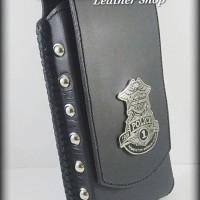 Leather case Dompet Tempat Sarung Hp kulit Harley Iphone 6S plus