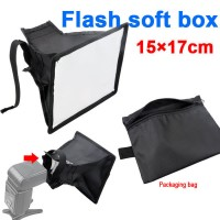 Soft Box Flash Diffuser 15cm X 17cm Berkualitas