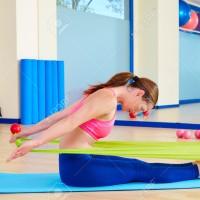[HOT VIDEO] 1,2Meter Yoga Resistance Band Pilates Elast Murah