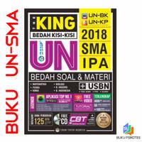 BUKU UN SMA - THE KING BEDAH TUNTAS KISI-KISI UN SMA IPA 2018 + CD