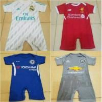 Baby Jumper / Baju Bola Bayi MU,REAL MADRID,INTER,AC MILAN,BARCELONA
