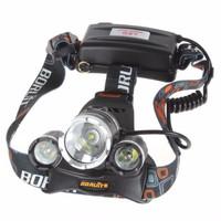 Jual Headlamp Cree XM-L T6 5000 Lumens Senter Kepala Laut camping Berburu Murah
