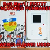 Jual Huawei Mifi Bolt Max1 / E5372S 3G 4G Tdd2300 Unlocked Permanen Murah