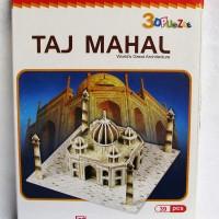 Mainan Edukasi 3D Puzzle Taj Mahal CubicFun