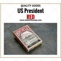 Jual Kartu Bicycle US President Red Murah