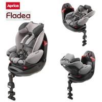 Dudukan Mobil Bayi Baby Car Seat Aprica Fladea Grow Standard Grey