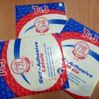 Label 103 T&J / Labels Undangan Tom & Jerry No. 103 ECER!