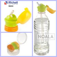 Richell Straw Bottle Cap (tutup Botol Dengan Sedotan)