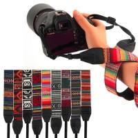 Tali strap Kamera Untuk DSLR Nikon Canon Sony Pentax Bergaya Retro Vin