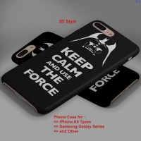 Keep Calm and Use the Force Darth Vader iPhone Case & All Case HP