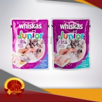 Makanan Anak Kucing Whiskas Junior 85 gram ( wet food )